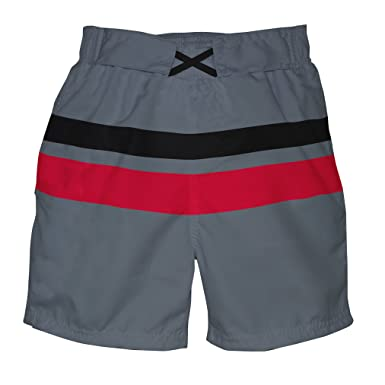 26c0a45652 Amazon.com: i play. Baby & Toddler Boys' Colorblock Trunks with ...