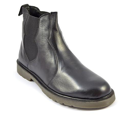 bd9c3e52606c Mens Black Chelsea Boots Westminster Style 1027 Size 6 7 8 9 10 11 ...