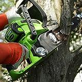 Greenworks 12-Inch 40V Cordless Chainsaw, Battery