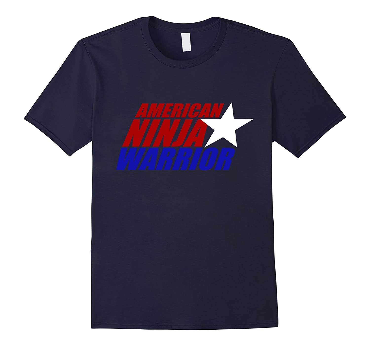 American-ninja Warrior 2016 T-shirt-BN