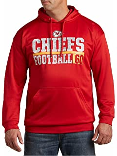 19136384 Amazon.com : Majestic Kansas City Chiefs Coin Toss Pullover Hooded ...