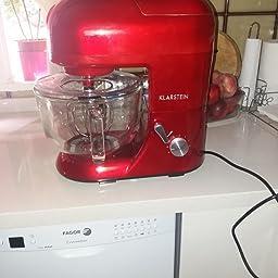 Klarstein Lucia Rossa 2G - Robot de cocina universal, Batidora ...