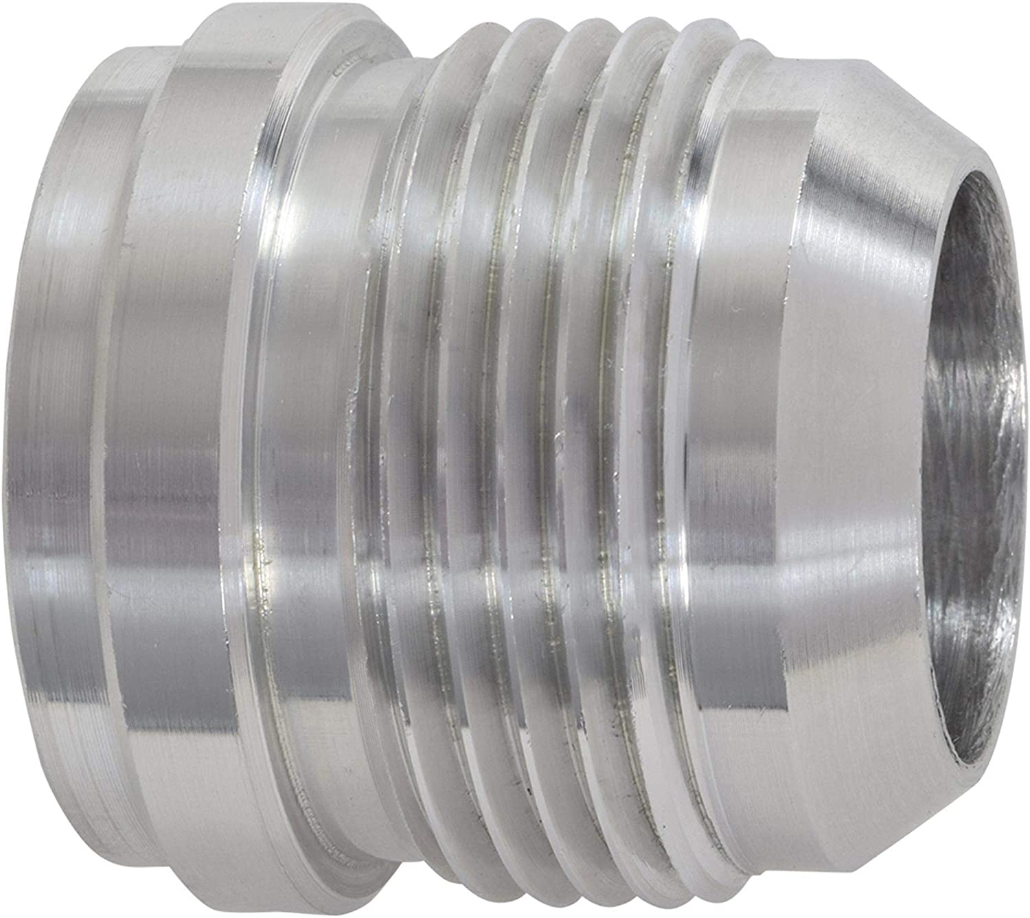 16 AN QTY:2 Stainless Steel WELD ON 2 PCS WELD IN FITTING BUNG AN16