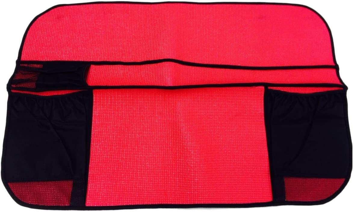 Automotive Interior Protection 60-002 Fender-Mate Red Reinforced Rubber and Foam 3-Ply Cover
