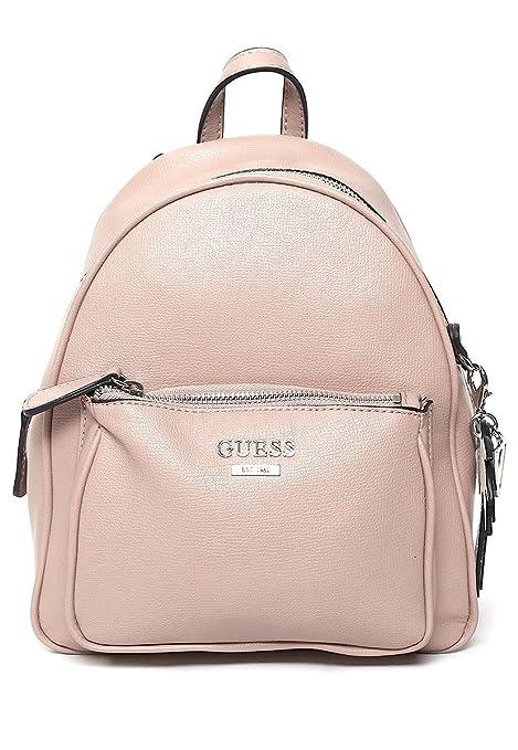 c0fc3b72b Guess- Backpack Rosa Mochila para Mujer Rosa Talla Unitalla: Amazon.com.mx