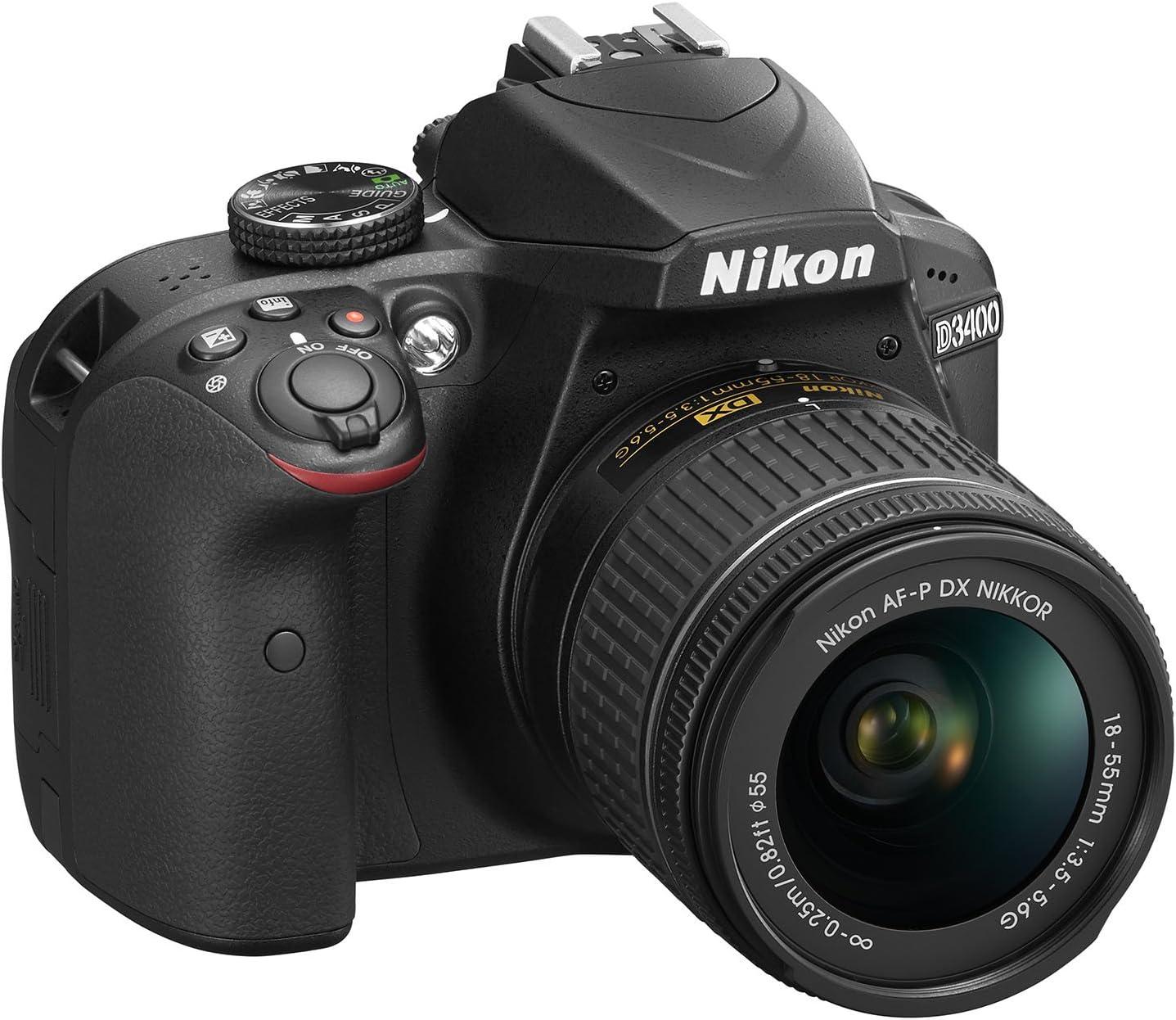 Nikon D3400 Digitales Spiegelreflexkamera Mit Objektiv Kamera