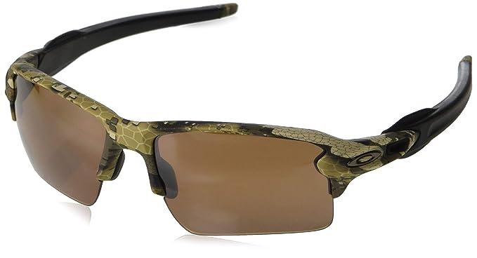 80d7a8eb70 Oakley Men s Flak 2.0 XL Polarized Iridium Rectangular Sunglasses ...