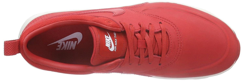 Nike Women's Air Max Thea Premium RedWhite 616723 602