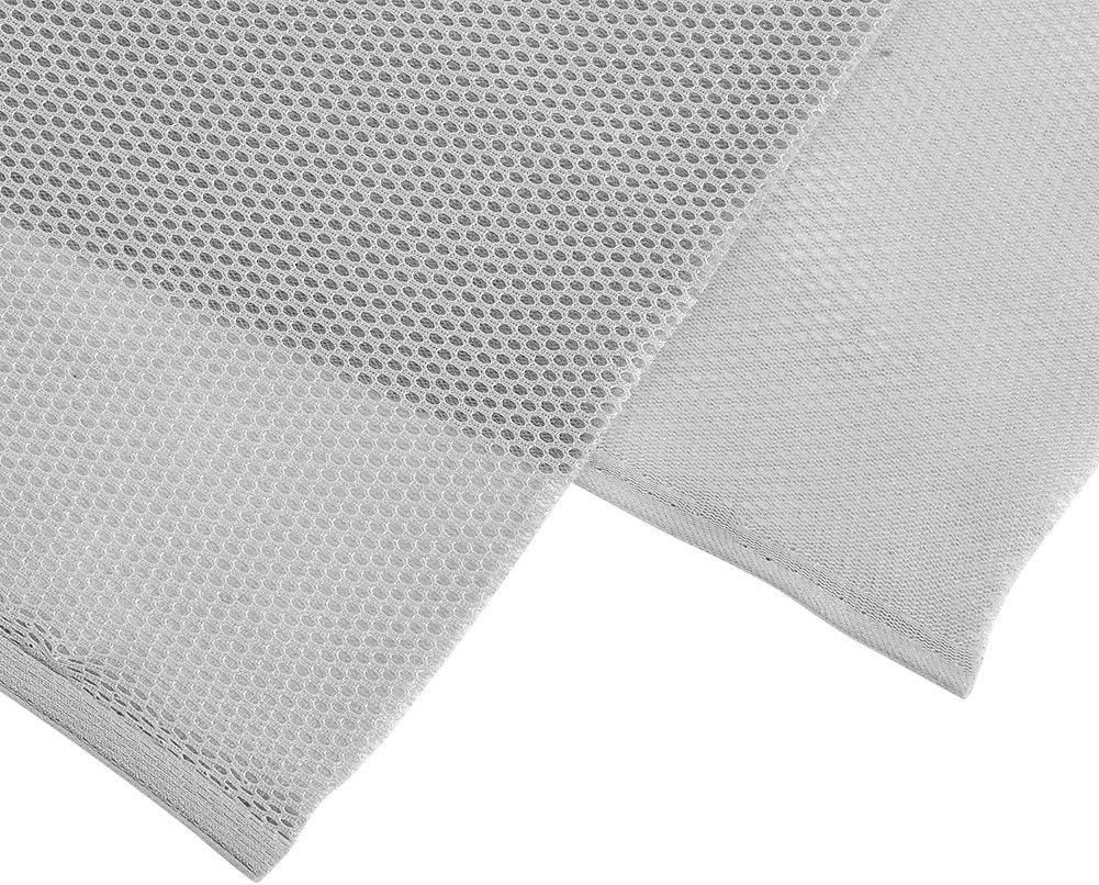 MAGT Pa/ño de Malla de Altavoz 1.4m x 0.5m Tela Cubierta de Tela Protectora a Prueba de Polvo Altavoz de Audio est/éreo Malla de Tela de Rejilla Gris Tela Altavoces