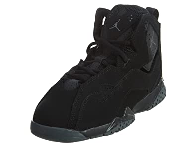 d960cbc9127c7 Nike Boy's Jordan True Flight(PS) Black/Dark Grey 1