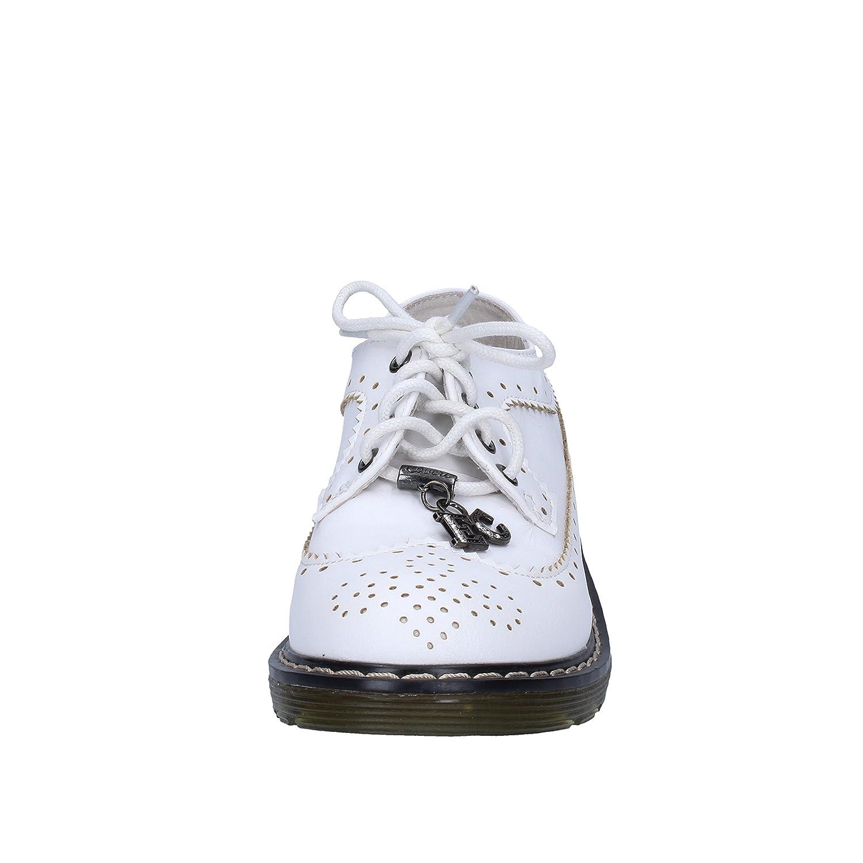 Chaussures Élégantes Enrico Coveri En Cuir Blanc Fille Ag251 (40 Eu) tajjrSnj5