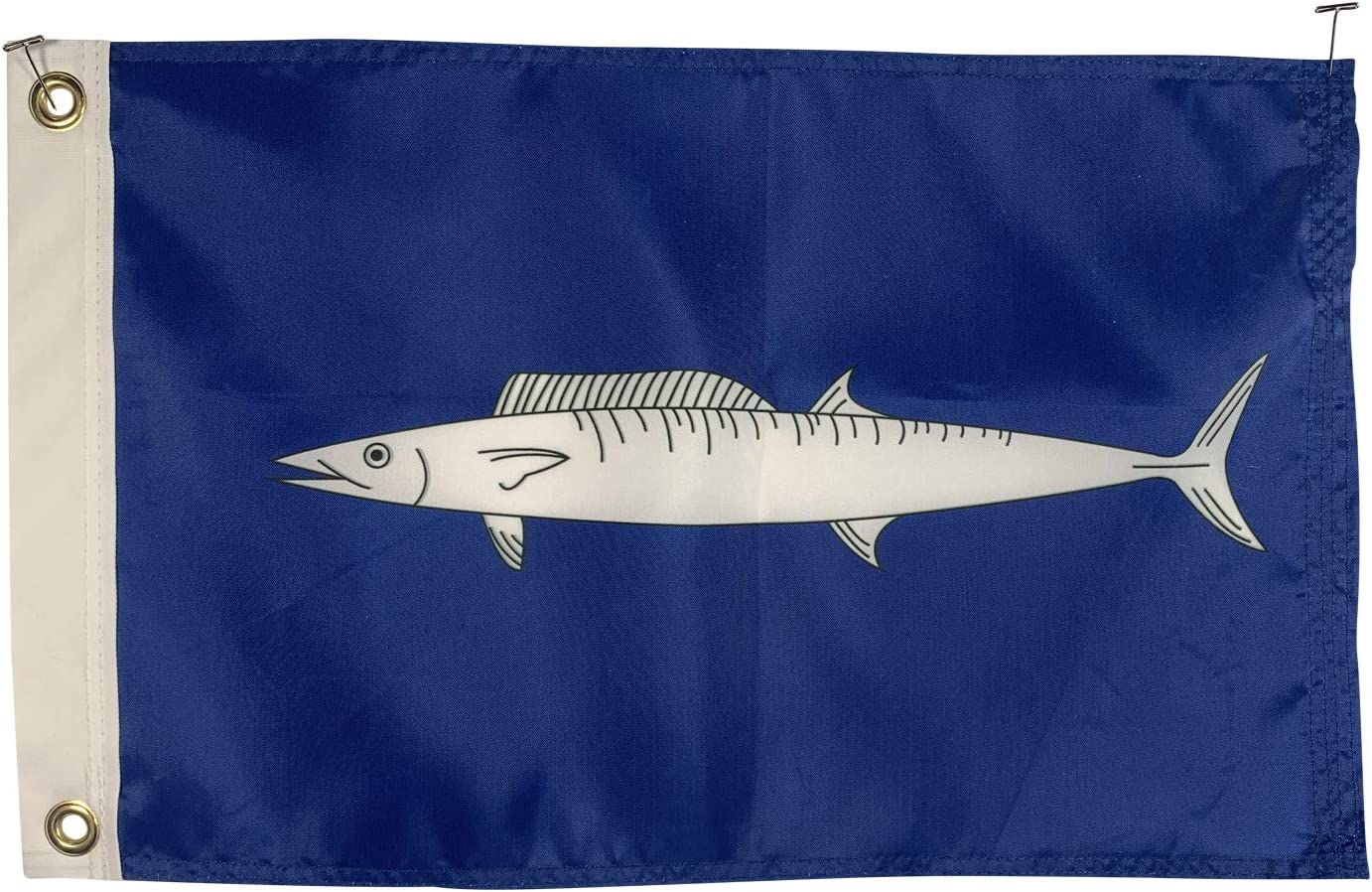 Amazon Com 12x18 Wahoo Boat Fishing Flag All Weather Nylon For Outdoor Made In Usa Garden Outdoor