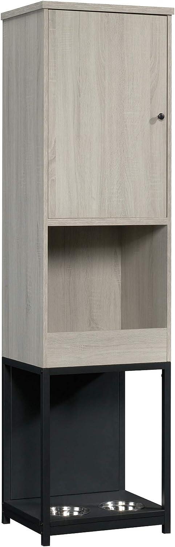 Sauder 425667 Bandit Pet Storage Cabinet, Light Oak