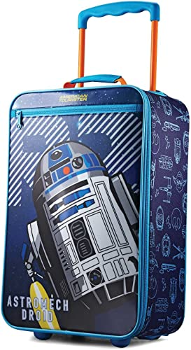American Tourister Kids Softside Upright Luggage, Star Wars R2-Dye, Carry-On 18-Inch
