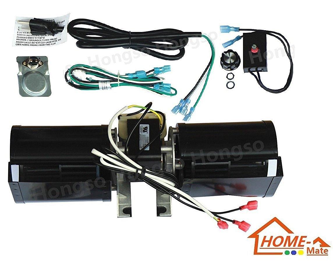 hongso gfk 160 gfk 160a gfk160 replacement fireplace blower kit
