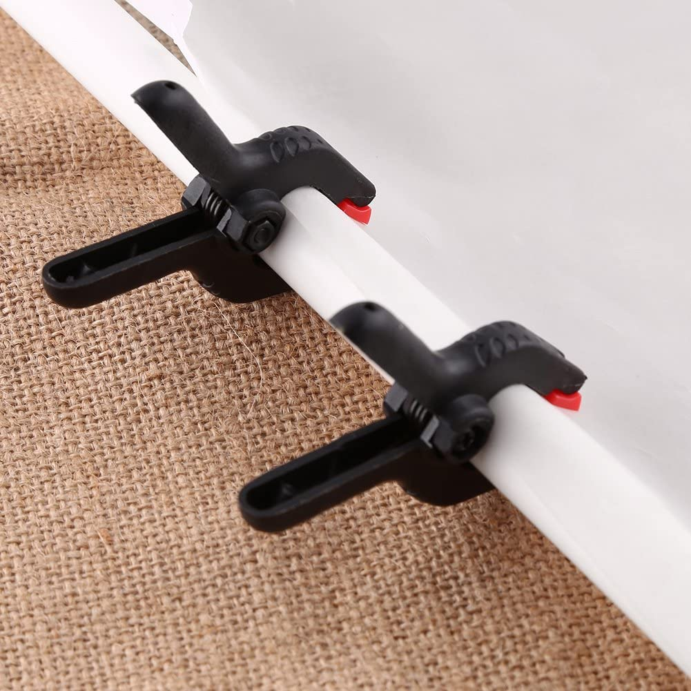 ROSEBEAR 6pcs Heavy Duty Spring Clamps Clip for Photography Studio Photo Background Stand Adjustable Portable Reflectors Muslin Support Backdrops Clips
