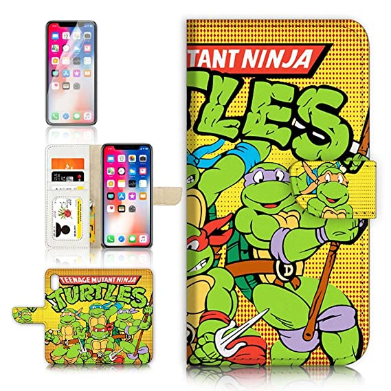 Amazon.com: (para iPhone X) Flip Wallet Case Cover & ...