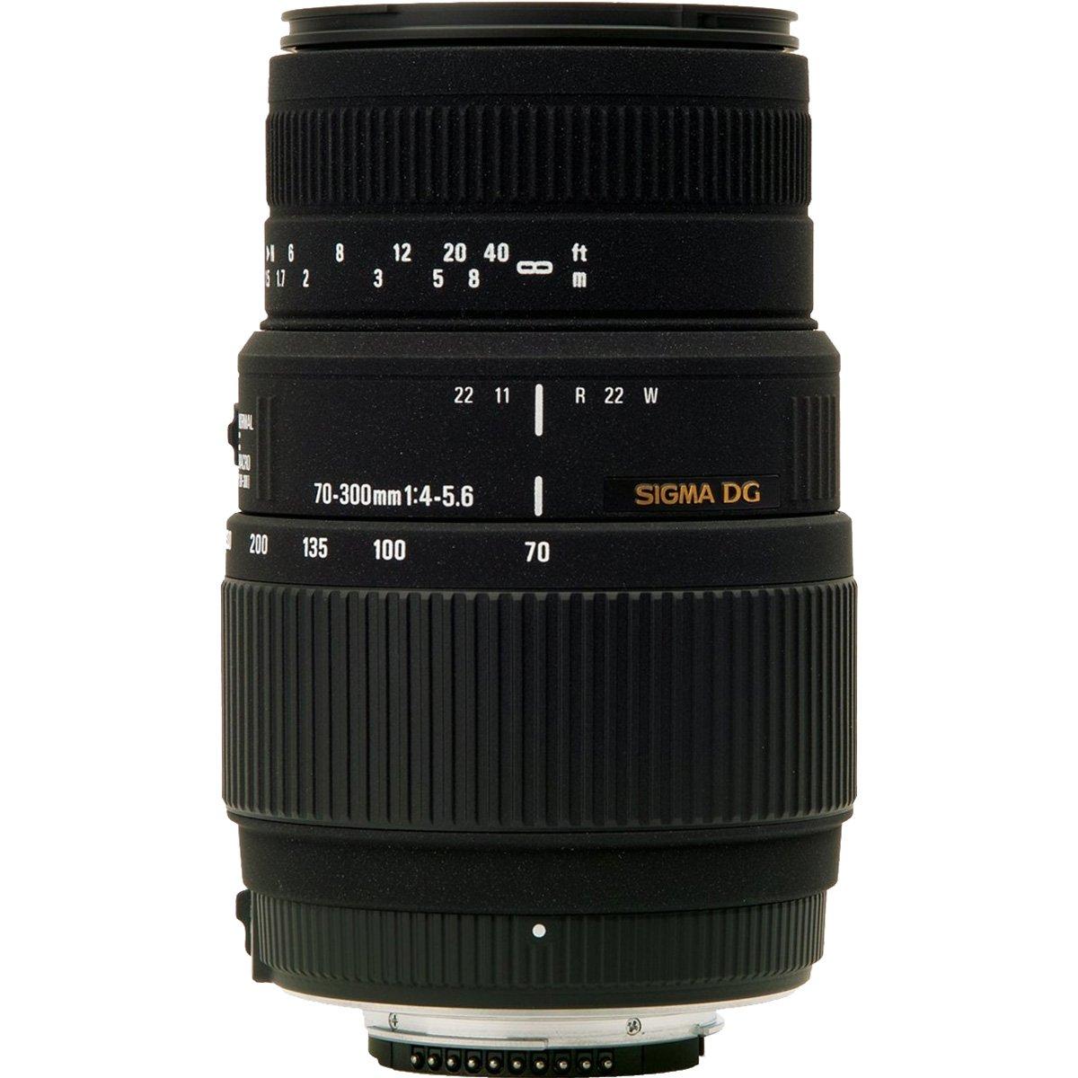 Sigma 70-300mm f/4-5.6 DG Motorized Macro Zoom Lens with Tripod + Filter + Strap + Kit for Nikon Digital SLR Cameras by Sigma (Image #3)