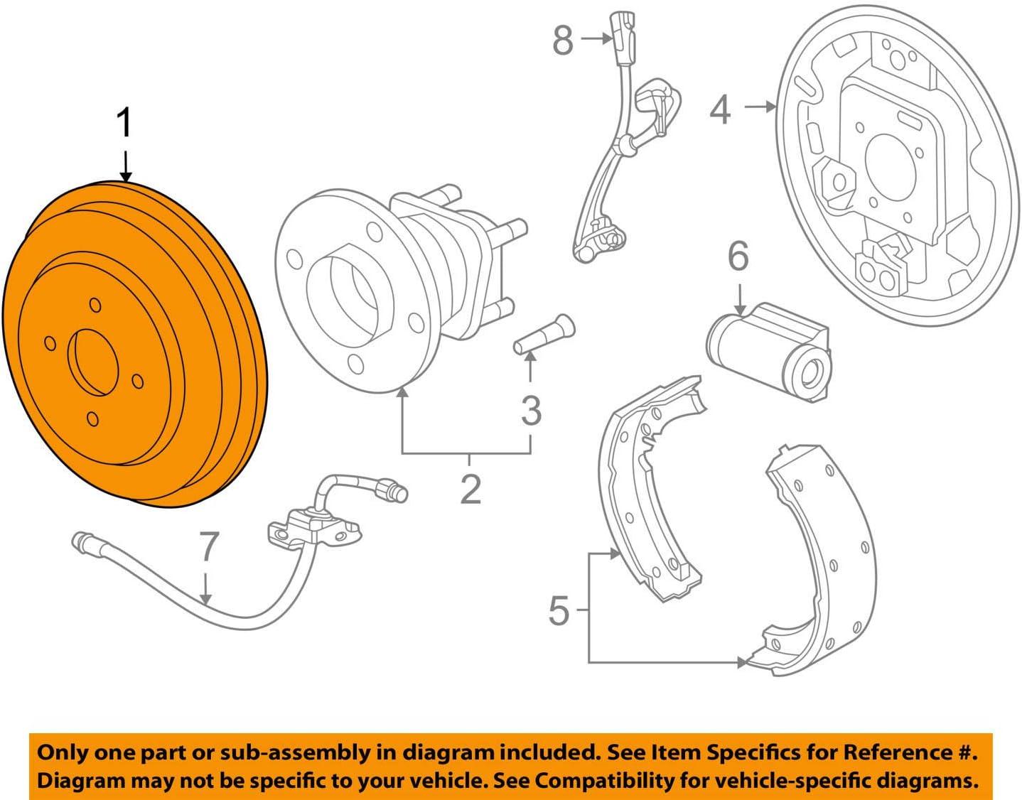 Amazon.com: General Motors 13435981, Brake Drum: AutomotiveAmazon.com
