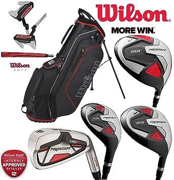 Set completo de 11 de palos de golf Wilson Prostaff, con ...