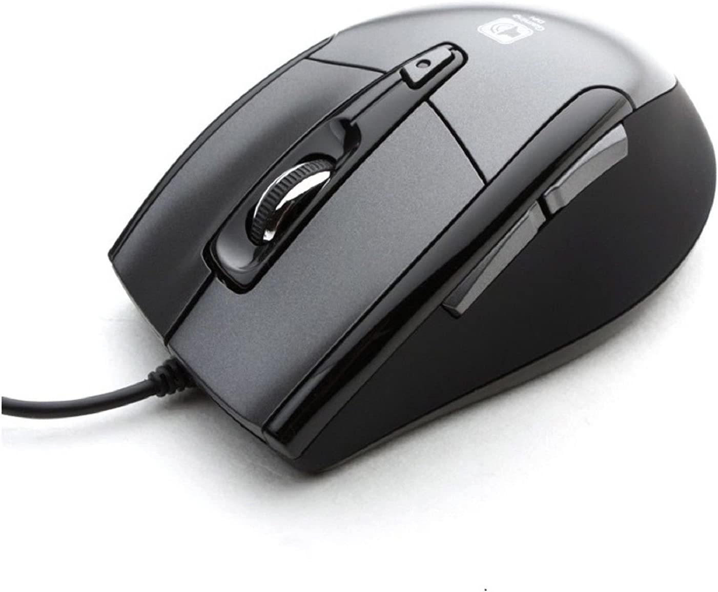 Noiseless USB Optical Gaming Computer Wheel Mouse 1600 DPI Super Quiet JNL-101K Black Silent