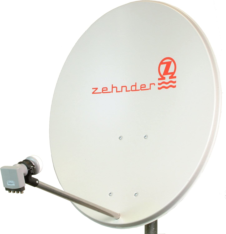 Zehnder AX80-44 - Antena parabólica digital exterior (4 ...