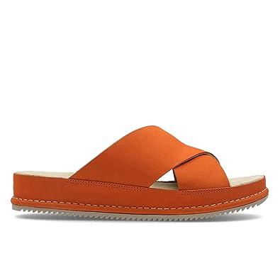 Clarks Alderlake Lily Nubuck Sandals In Standard Fit Size 5