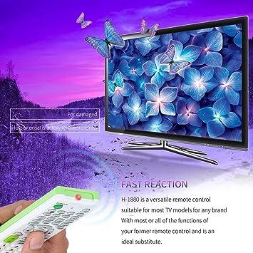 Swiftwan Universal LCD LED HD TV Mando a Distancia para el ...