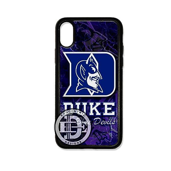 new styles ad199 6219b Amazon.com: (iPhone Xs MAX) EGOCENTRIC DESIGN & CO. Duke Blue Devils ...