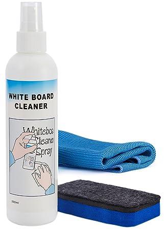 officematters 8 oz Spray limpiador líquido pizarra, pizarra ...