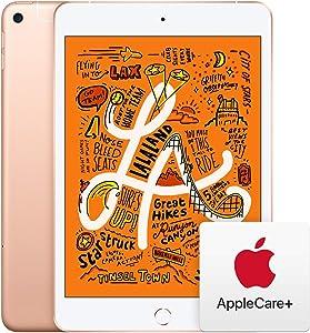 Apple iPad Mini (Wi-Fi + Cellular, 256GB) - Gold with AppleCare+ Bundle