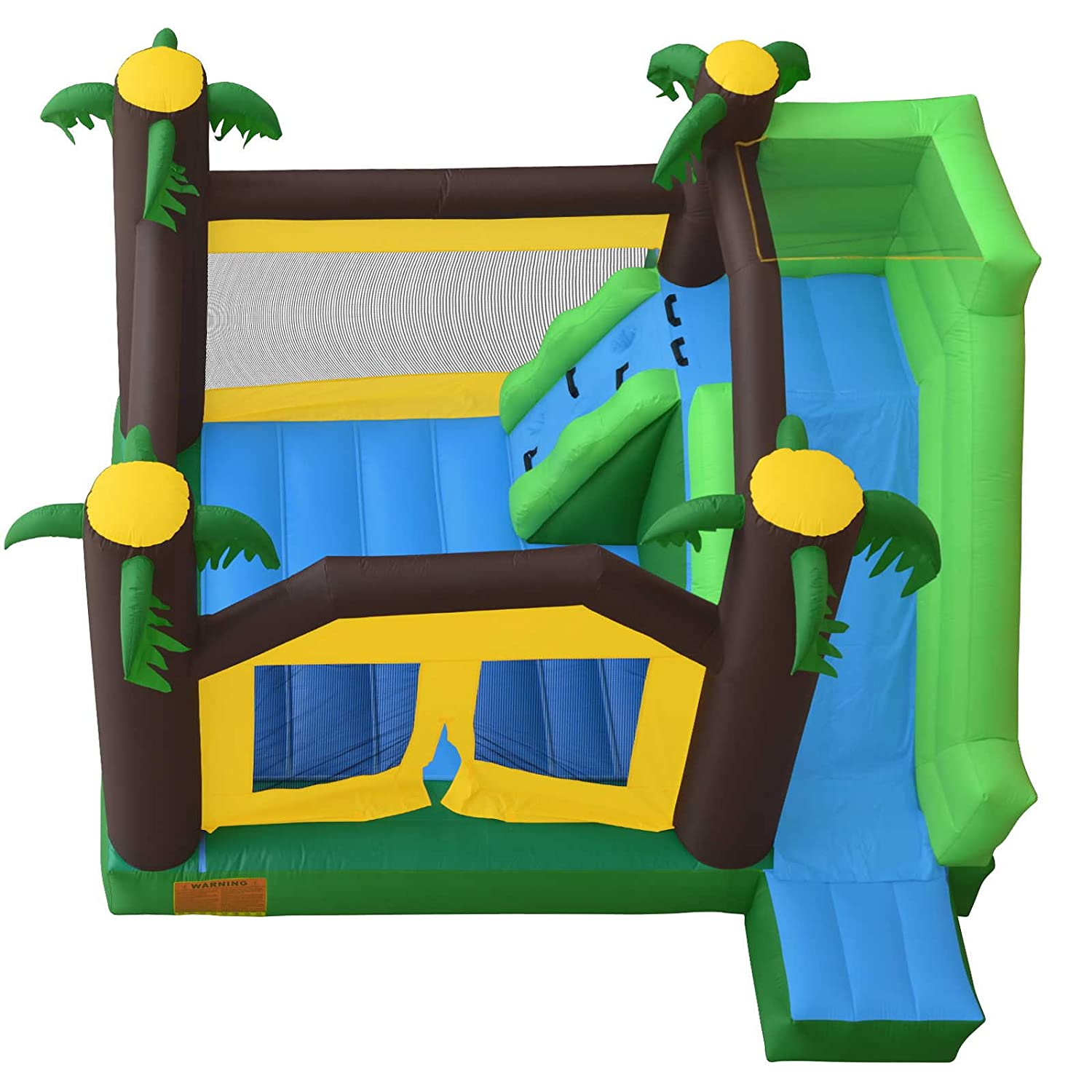 Amazon Cloud 9 Jungle Bounce House with Climbing Wall and
