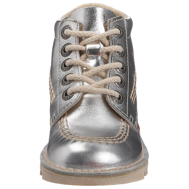 Kickers Kick Boot Kickers Zapatos Plateado (Plata/Natural (Plata/Natural (Plata/Natural 27fb85