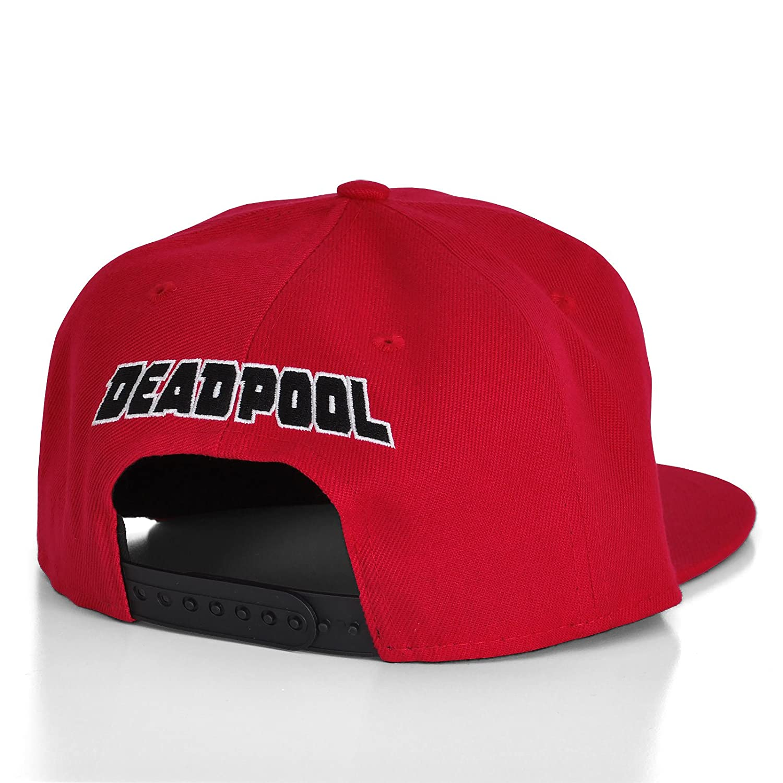 Marvel Comics Deadpool - Gorra para hombre, máscara, gorra de baseball, color  rojo: Amazon.es: Deportes y aire libre