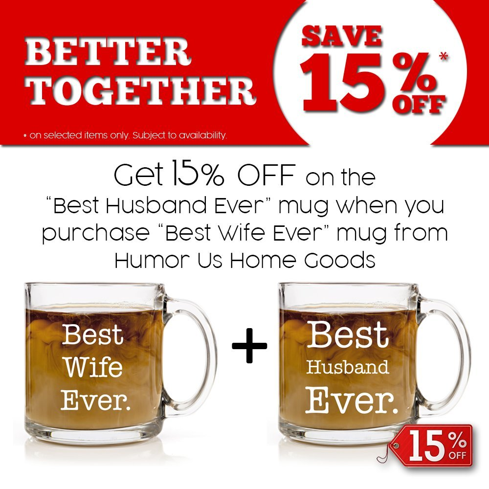 "Amazon.com: ""Best Wife Ever"" Personalized Coffee Mug, Funny Mugs for ..."