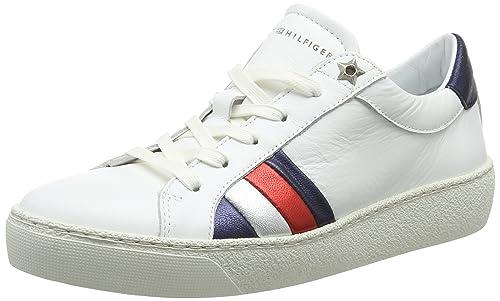 Tommy Hilfiger Corporate Iconic Sneaker, Zapatillas para Mujer: Amazon.es: Zapatos y complementos