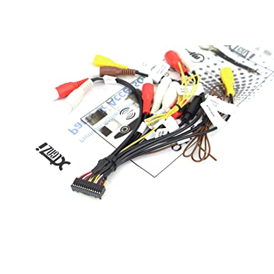 Xtenzi RCA Cord Assembly Harness Car Audio Video Compatible with Pioneer AVIC AVH CDP1803 - XT91909: Sports & Outdoors