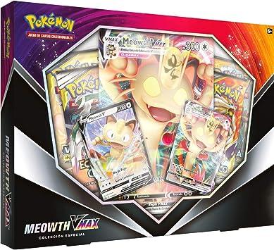 Pokemon - Caja MEOWTH (COLECCIÓN ESPECIAL): Amazon.es: Juguetes y juegos