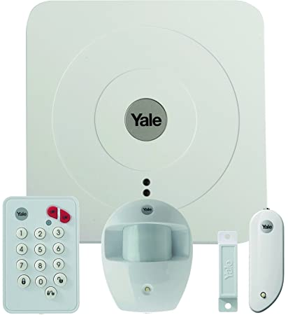 Yale 60-A100-3PET-SR-5011 Kit de Alarma, 1.5 V, Blanco