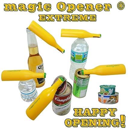 The Extreme Magic Opener - Abridor de Latas y Destapador Botellas de Plastico