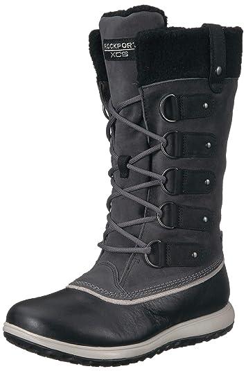 Amazon Com Rockport Women S Xcs Britt High Boot Snow Mid Calf