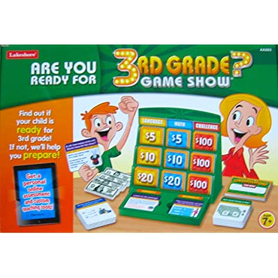 Are You Ready For 3rd Grade? GAME SHOW by Lakeshore: Toys & Games
