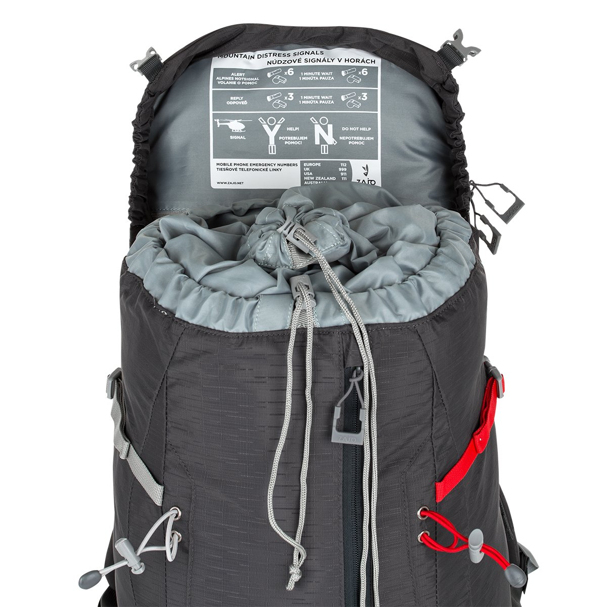 Zajo Outdoor Rucksack Trekkingrucksack Mayen 35 Liter mit Netzrücken ...