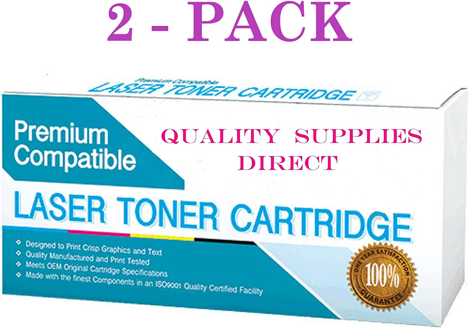 B07T78VCBH QSD Compatible Toner Replacement for Ricoh 841452, Works with: Aficio MP C4501, MP C5501 (Black)(Free 1 to 2 Day DELIVERY)(2-Pack) 71MZsvnB4AL.SL1500_