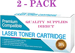 QSD Remanufactured Inkjet Replacement for HP CN055AN, CN059AN, 933XL Magenta, works with: OfficeJet 6100, 6600, 6700, 7110, 7610, 7612 Series (With New Chip) (Magenta)(FREE 1 TO 2 DAY DELIVERY(2-PACK)