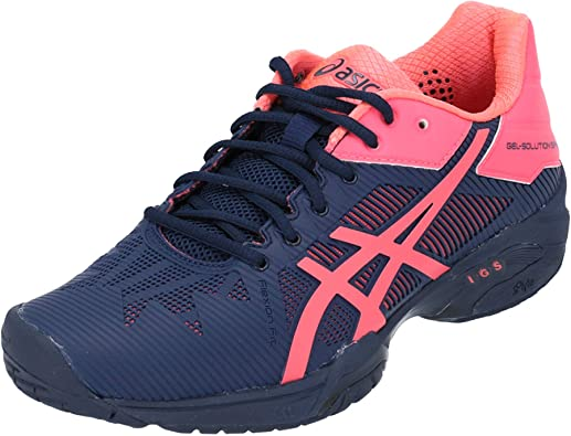 Sollozos Lucro Modernización  ASICS Gel-Solution Speed 3 - Zapatillas deportivas para mujer, color azul,  color Azul, talla 43.5 EU: Amazon.es: Zapatos y complementos