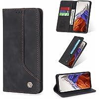 ESONG Hoesje voor Samsung Galaxy S21 5G,Flip Leer Hoes met Magnetisch Kaartsleuf Bracket,PU/TPU Wallet Protective Cover…