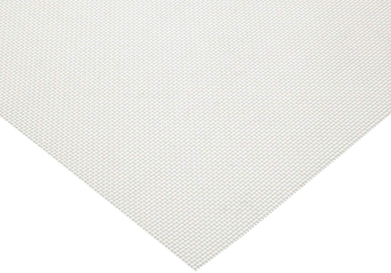 Polypropylene Mesh Sheet Opaque White 41/% Open Area 405 microns Mesh Size PP 12 Length 12 Width