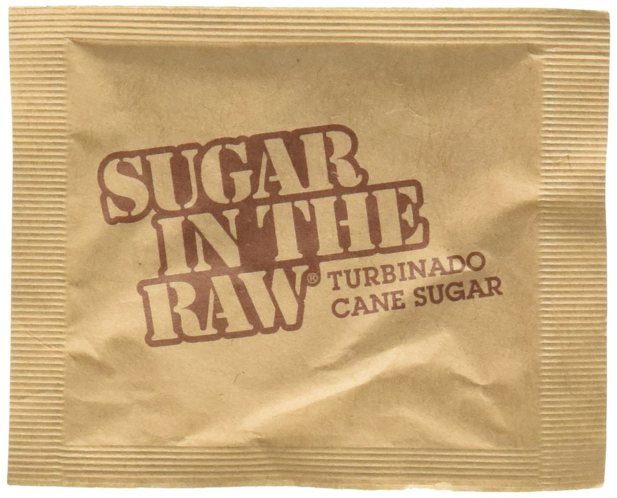 Sugar In The Raw Natural Cane Sugar Packets, 50 count