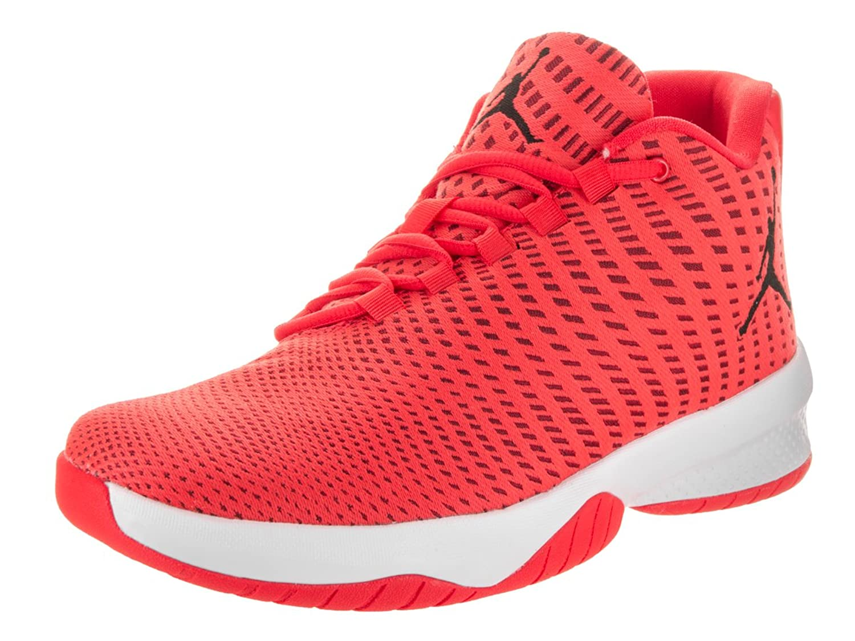 timeless design 07d41 5fb58 ... buy amazon jordan mens jordan b. fly max orange black gym red white  basketball shoe